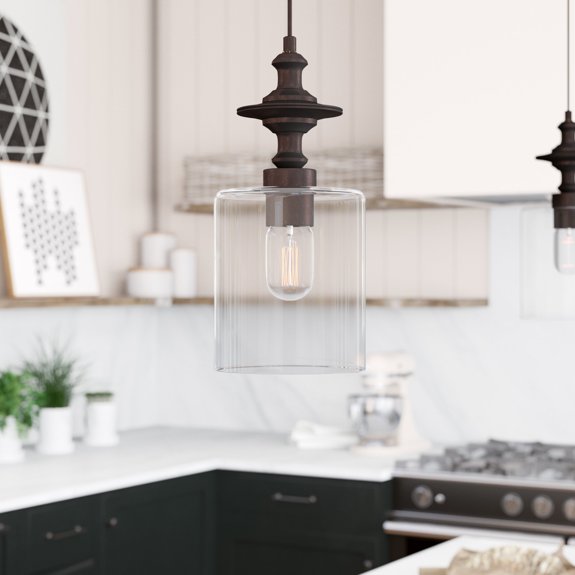 Most Current Moyer 1 Light Single Cylinder Pendant In Ammerman 1 Light Cone Pendants (View 11 of 20)