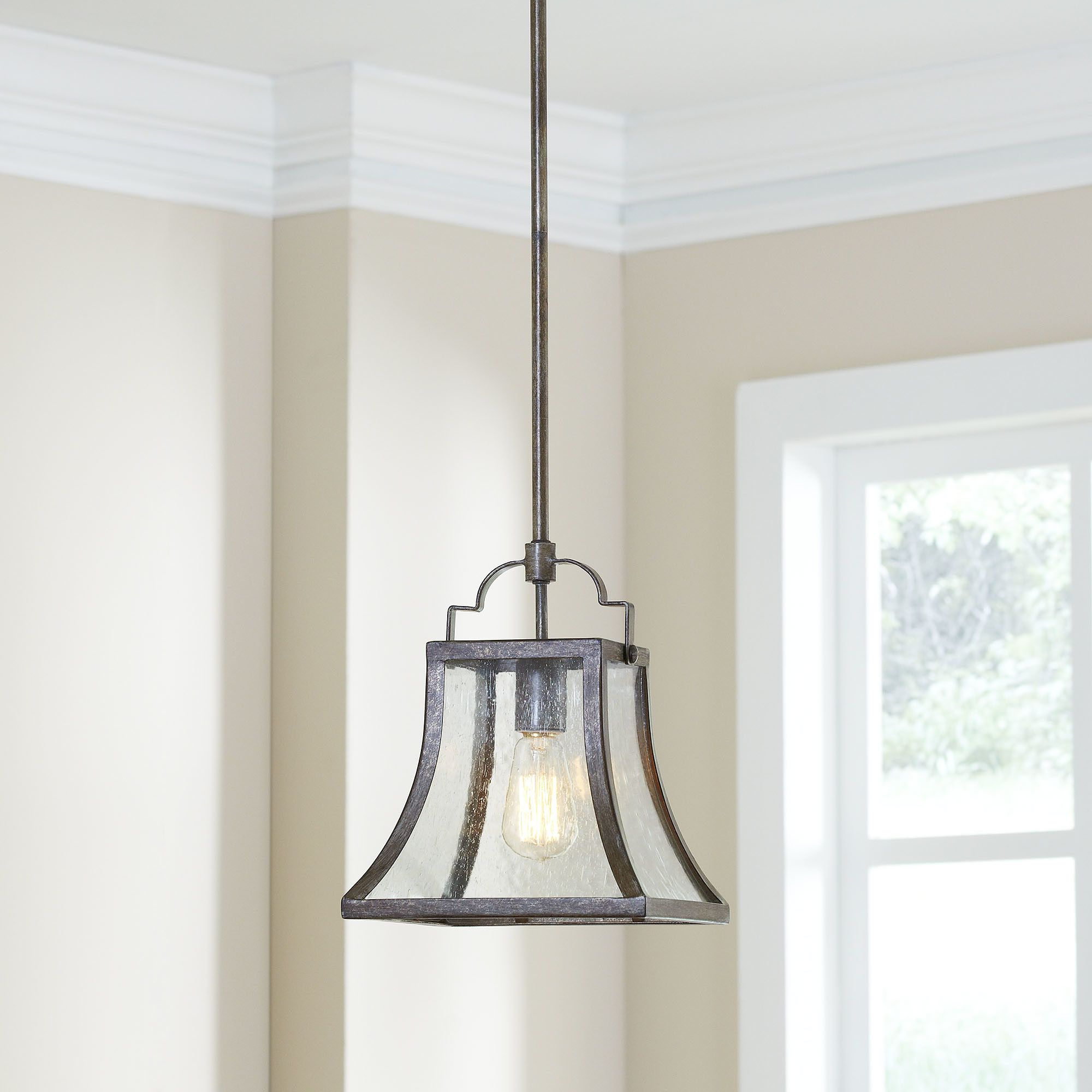 Most Popular Birch Lane Hawkesbury 1 Light Foyer Mini Pendant (View 14 of 20)