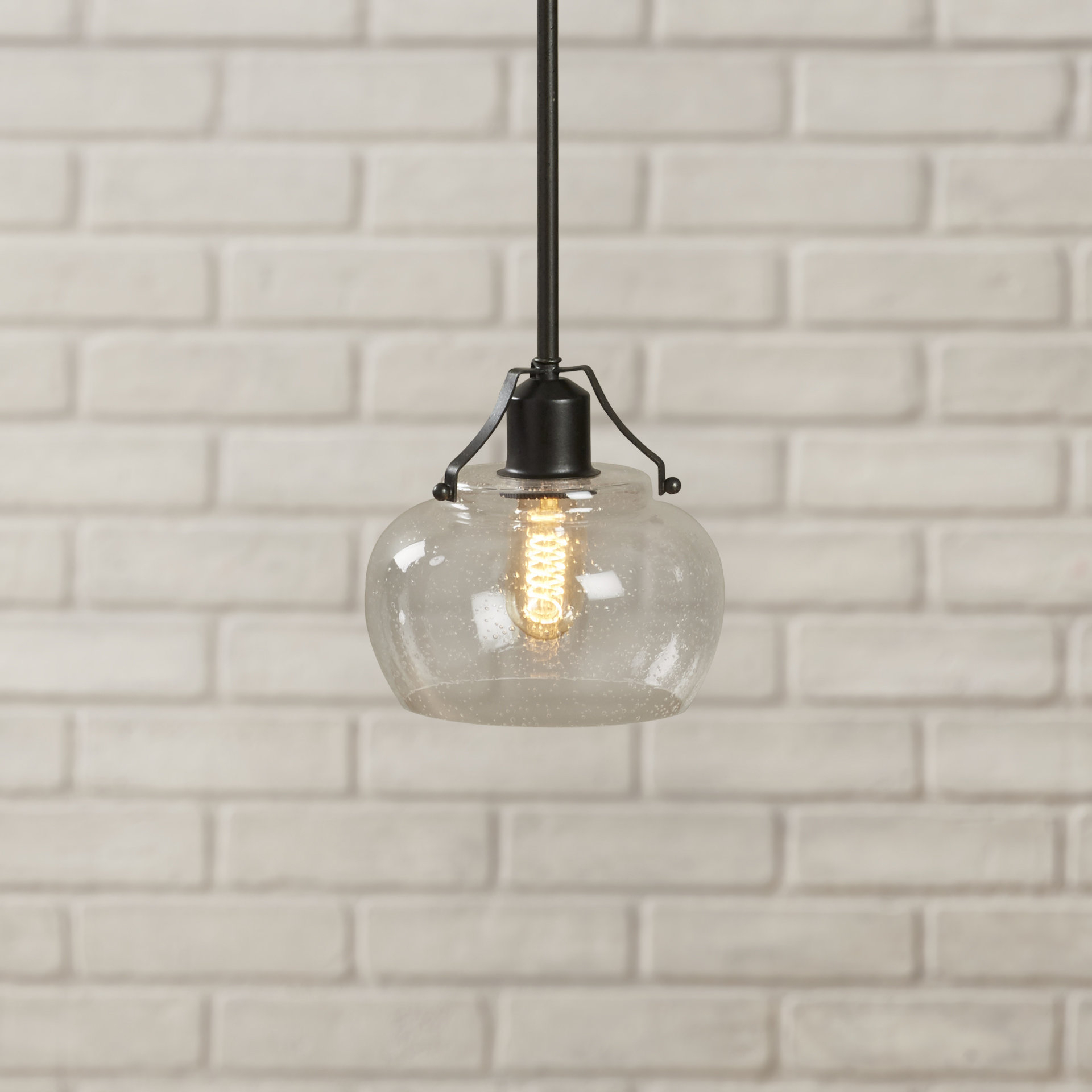 Featured Photo of Abordale 1 Light Single Dome Pendants