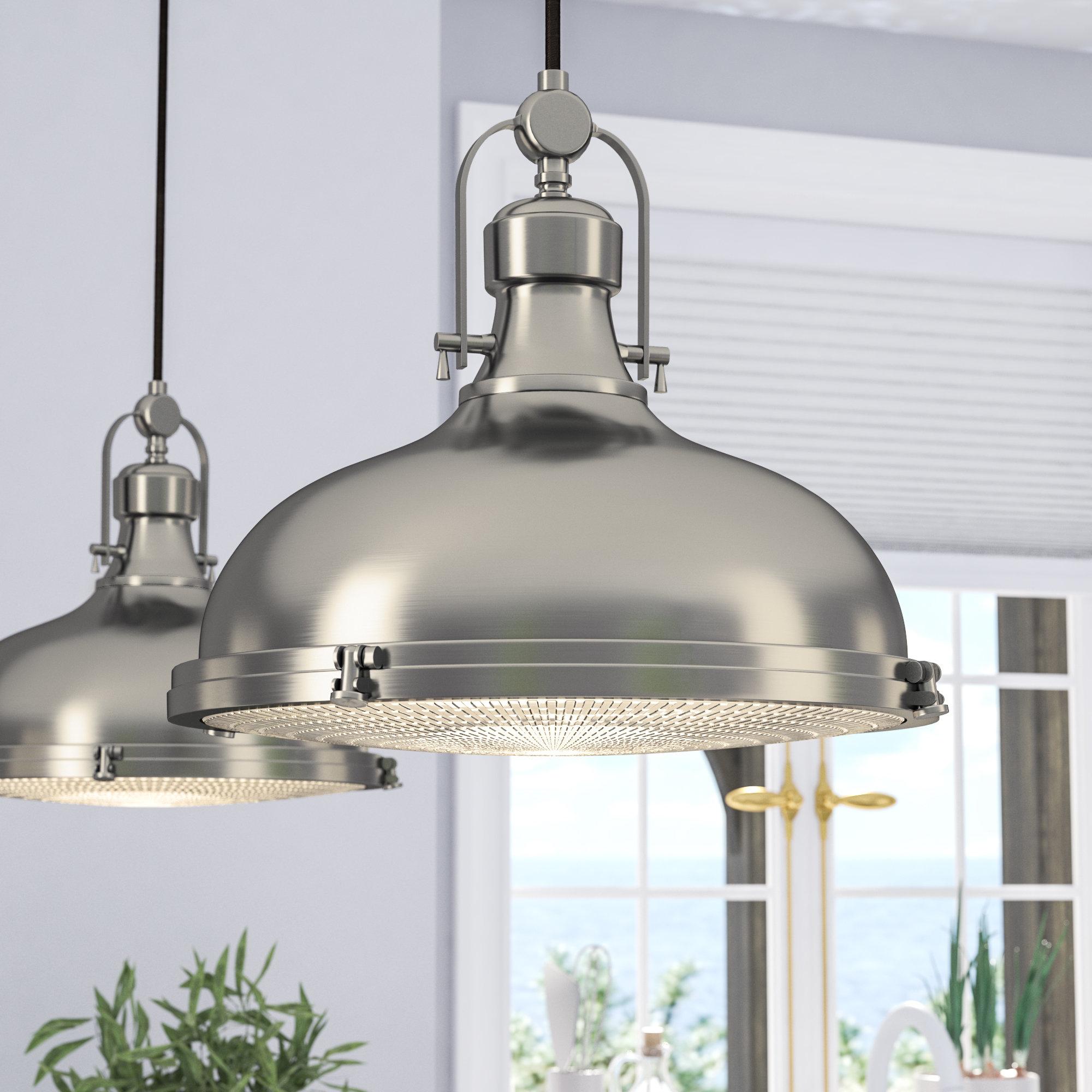 Most Recent Freeda 1 Light Single Dome Pendant Within 1 Light Single Dome Pendants (View 2 of 20)