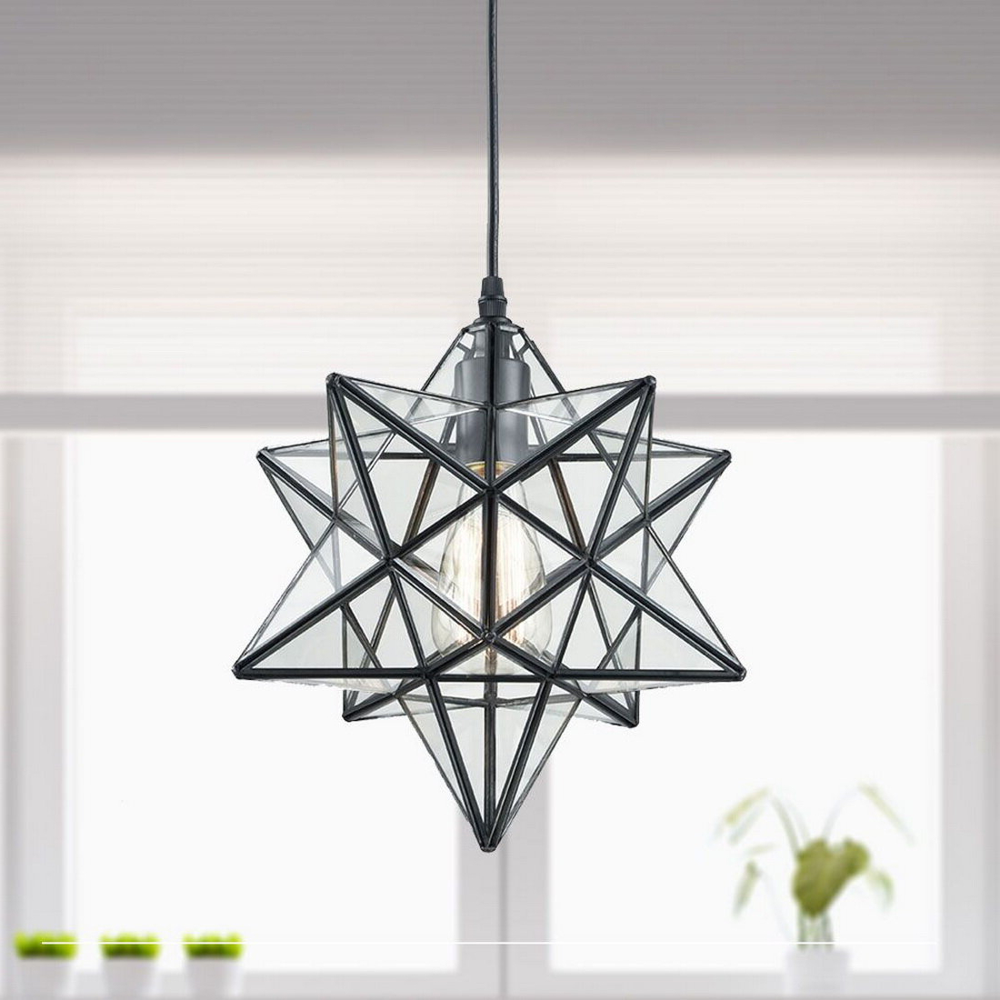 Most Recently Released 1 Light Single Star Pendants Within Denzel 1 Light Single Star Pendant (View 14 of 20)