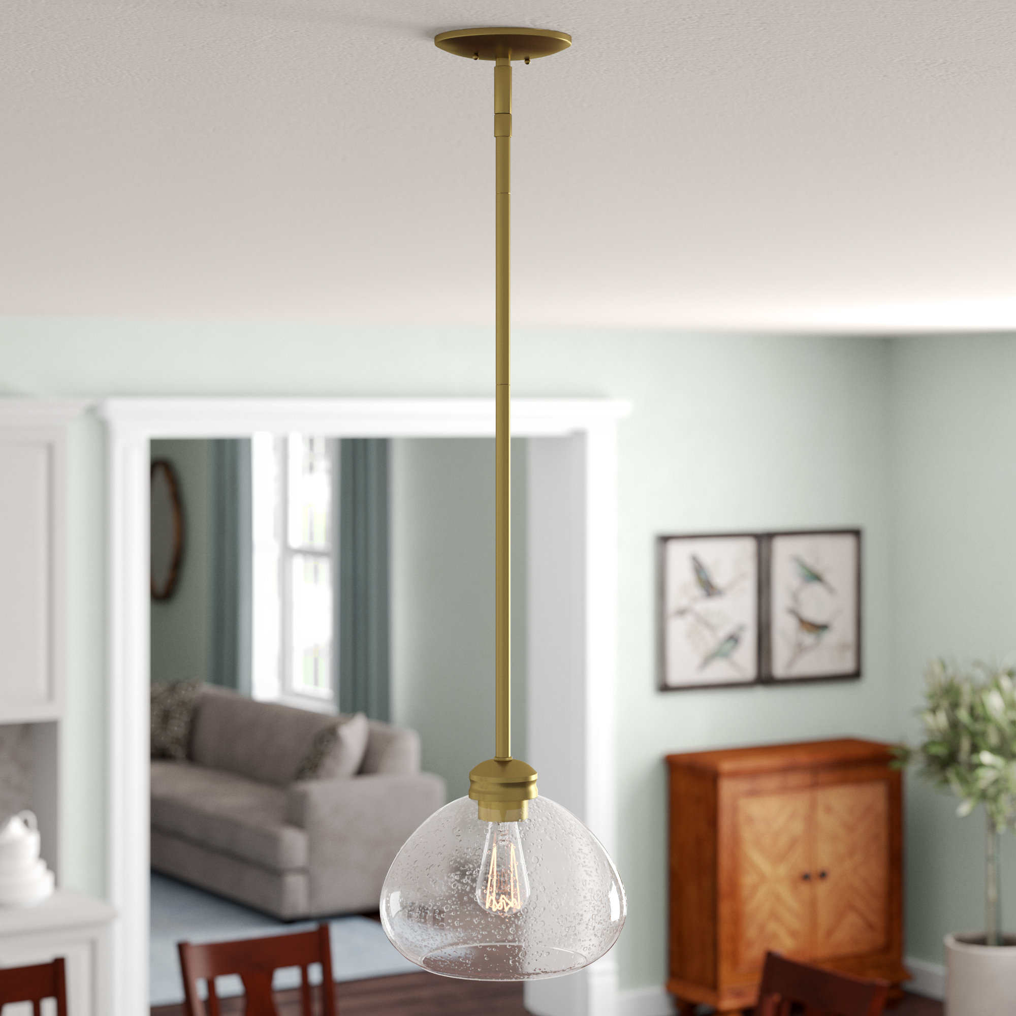 Most Recently Released Casselman 1 Light Globe Pendant In 1 Light Globe Pendants (View 14 of 20)