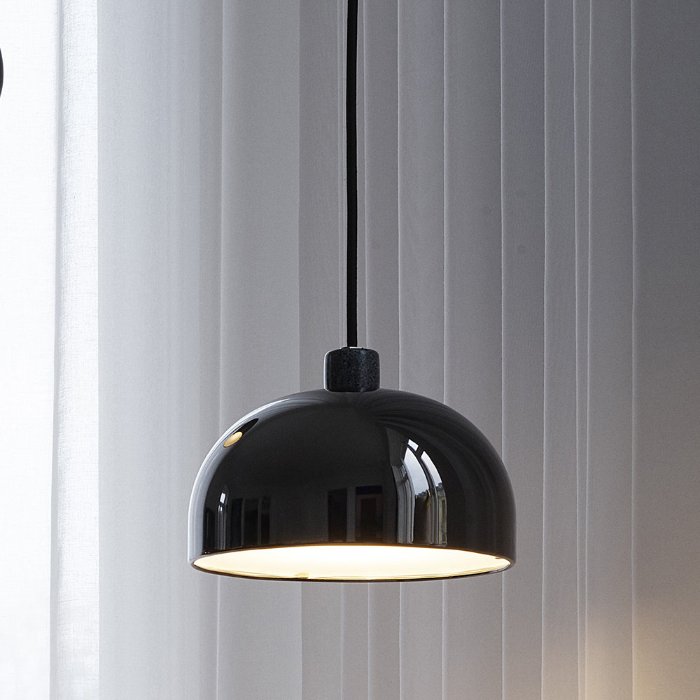 Most Recently Released Grant Pendant Light – Black – Small Inside Amara 3 Light Dome Pendants (View 18 of 20)