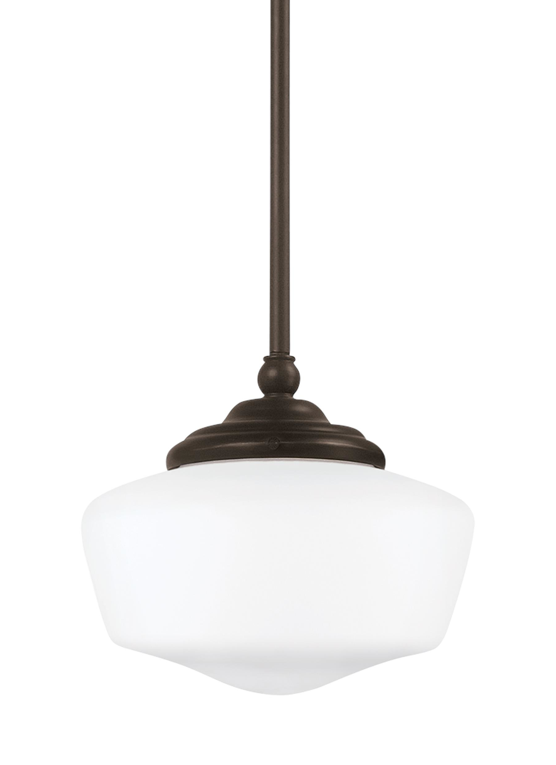 Panacea 1 Light Single Schoolhouse Pendant Within Fashionable 1 Light Single Schoolhouse Pendants (View 14 of 20)
