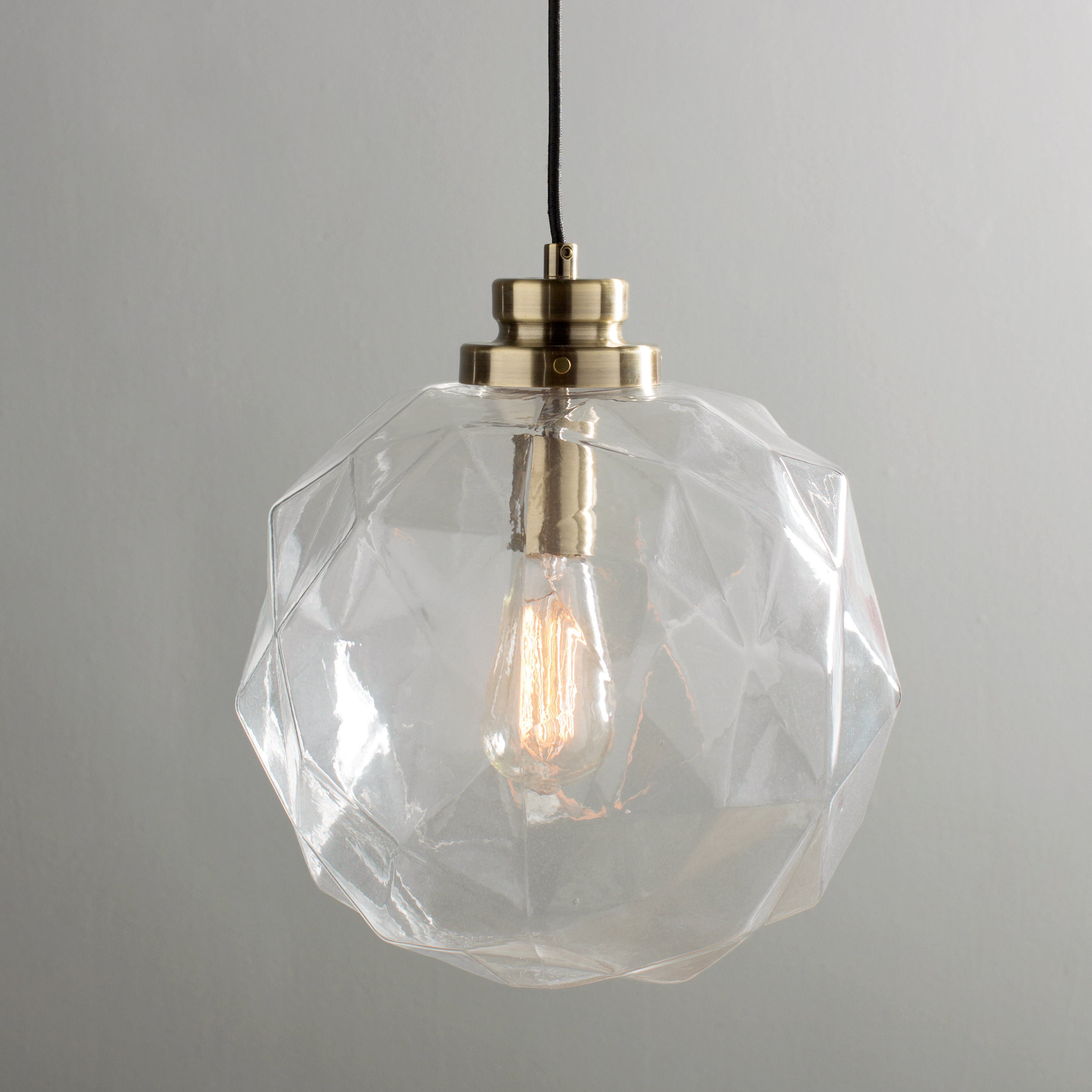 Featured Photo of 1 Light Geometric Globe Pendants