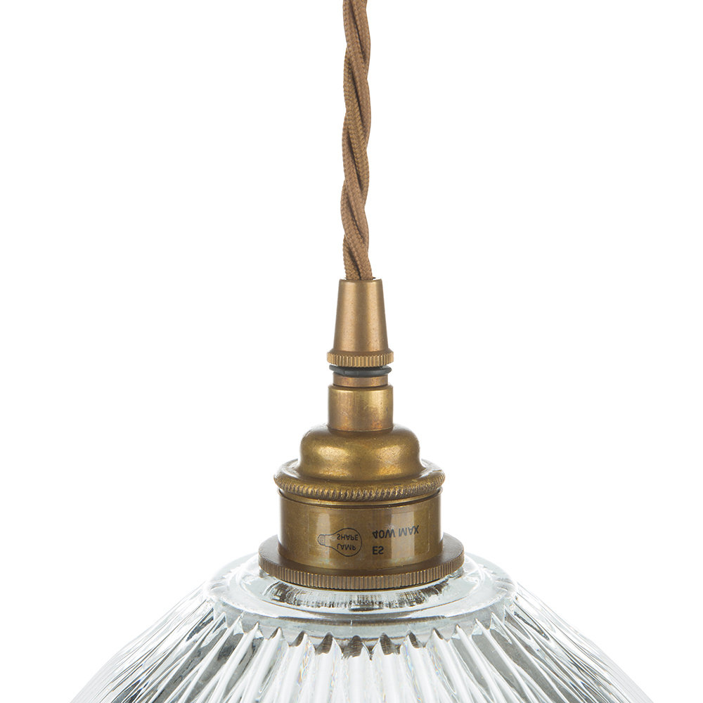 Popular Amara 2 Light Dome Pendants With Regard To Dome Prismatic Pendant Light – Small (View 18 of 20)