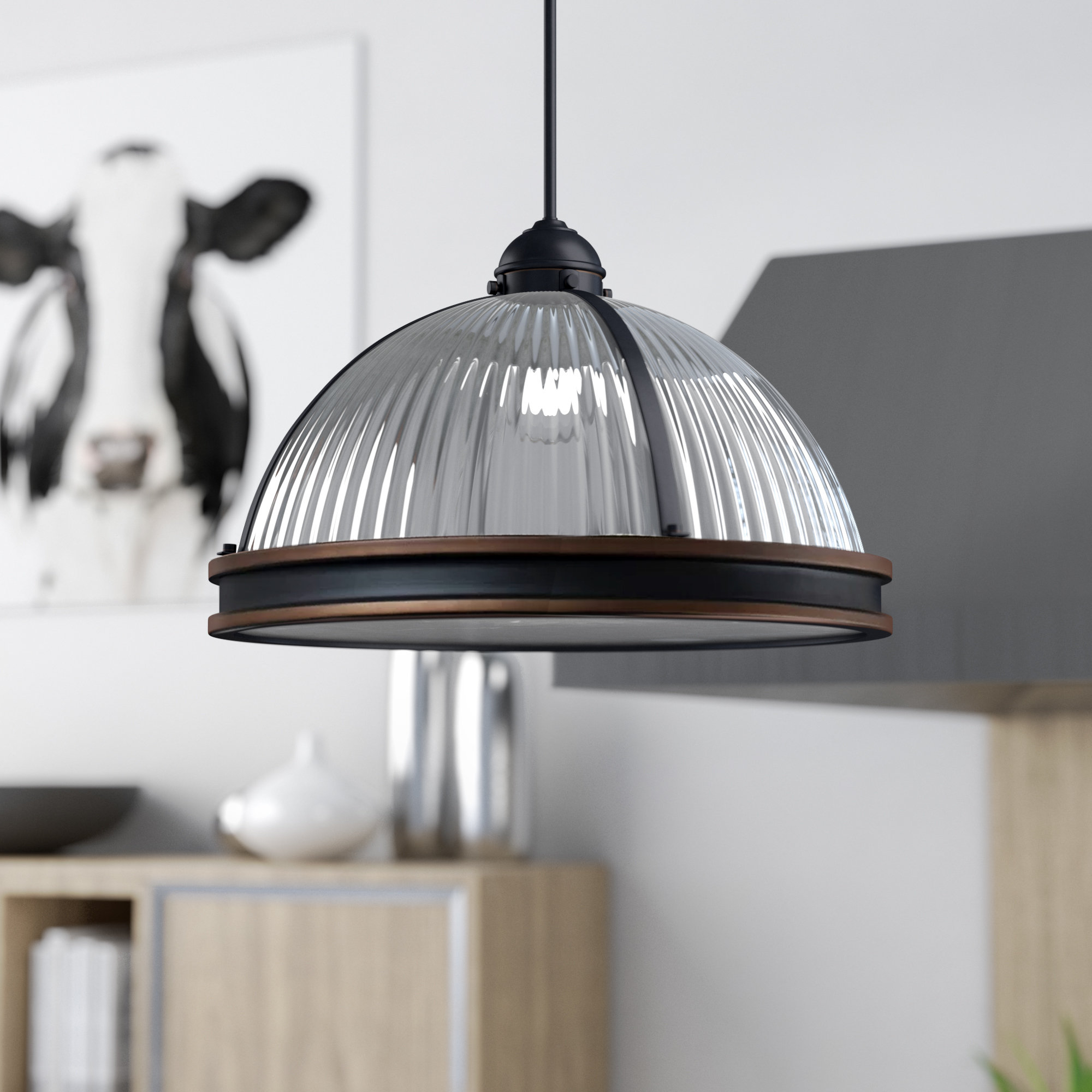 Popular Amara 3 Light Dome Pendants In Palisade 3 Light Dome Pendant (View 10 of 20)