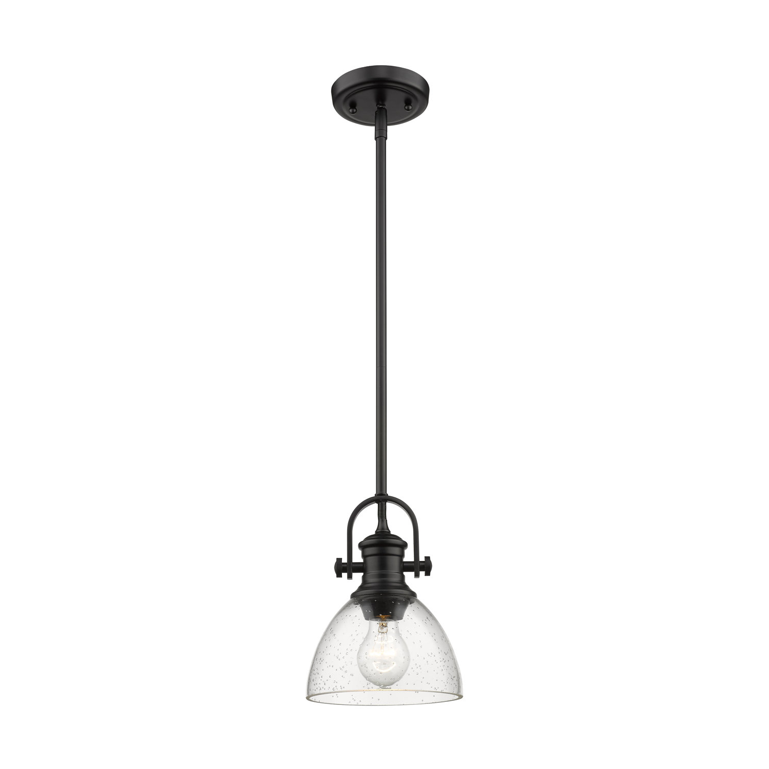 Popular Vedder 1 Light Single Bell Pendant For Abernathy 1 Light Dome Pendants (Gallery 11 of 20)