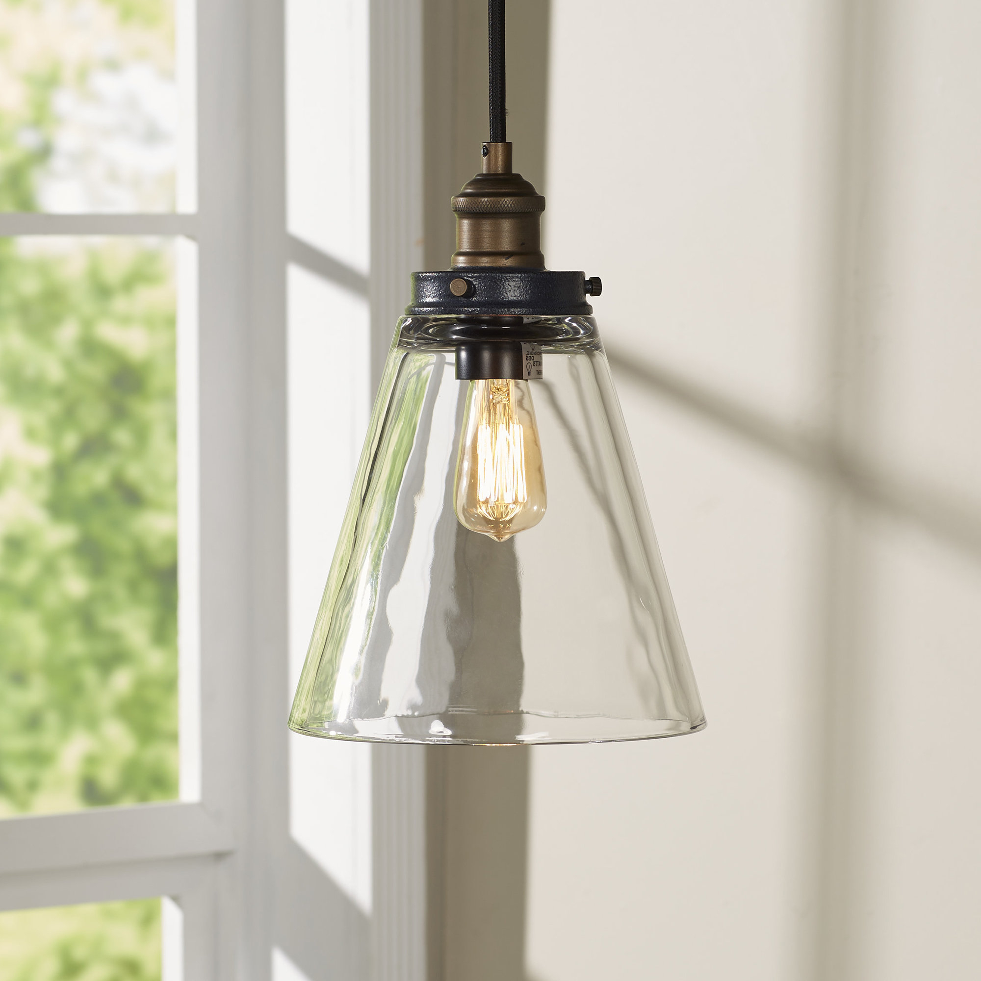 Preferred Bedford 1 Light Bell Pendant Throughout Akakios 1 Light Single Bell Pendants (View 16 of 20)