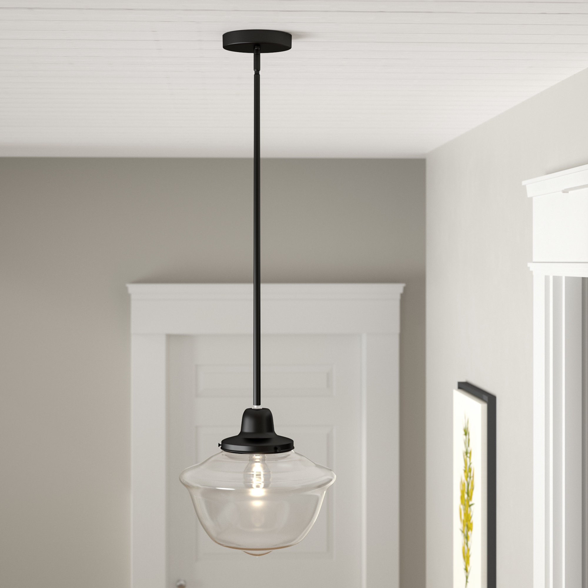 Preferred Isaiah 1 Light Single Schoolhouse Pendant In 1 Light Single Schoolhouse Pendants (View 16 of 20)