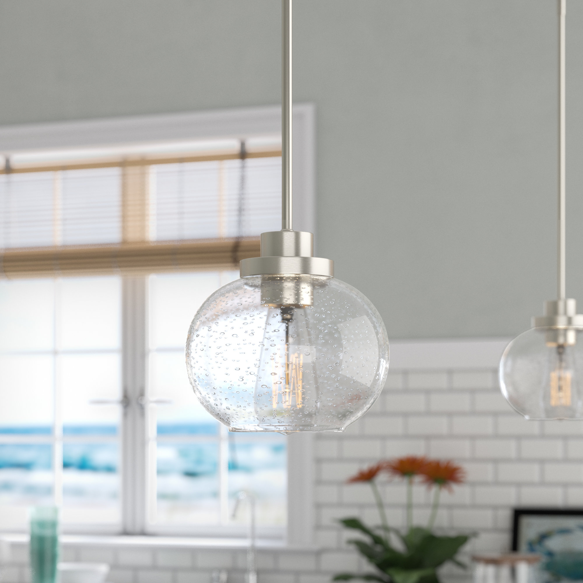 Preferred Wiesner 1 Light Globe Pendant Regarding 1 Light Globe Pendants (Gallery 3 of 20)