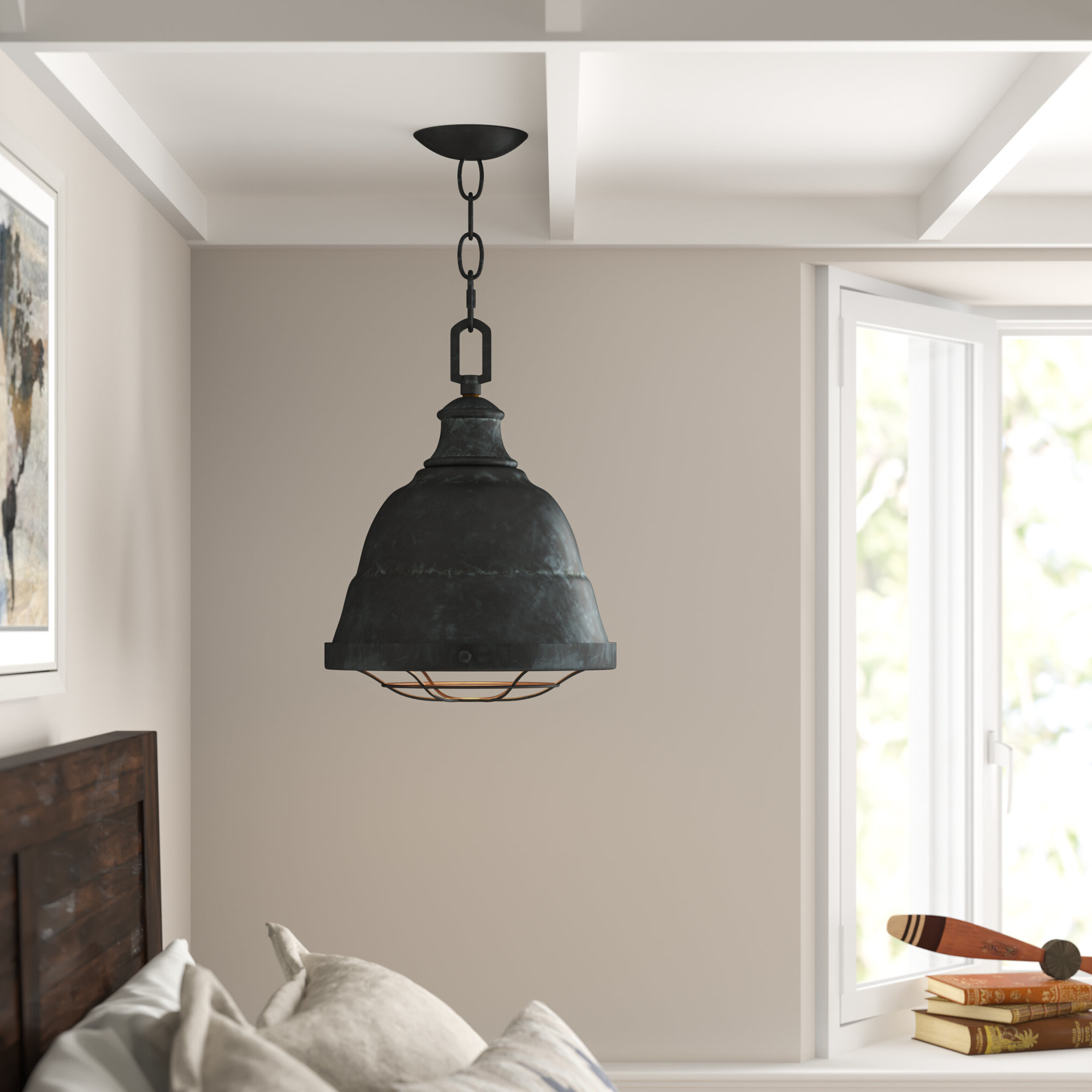 Trendy Elinna 2 Light Single Bell Pendant Intended For Amara 2 Light Dome Pendants (View 20 of 20)