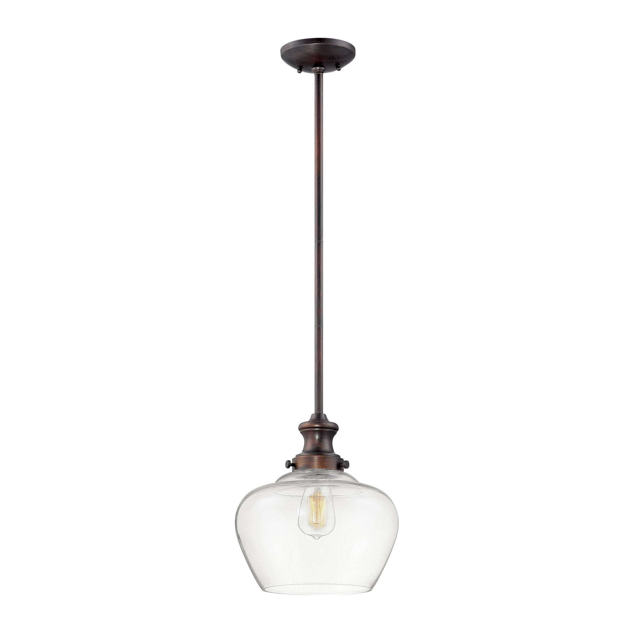 Trendy Witten 1 Light Single Bell Pendant Throughout Akakios 1 Light Single Bell Pendants (View 6 of 20)