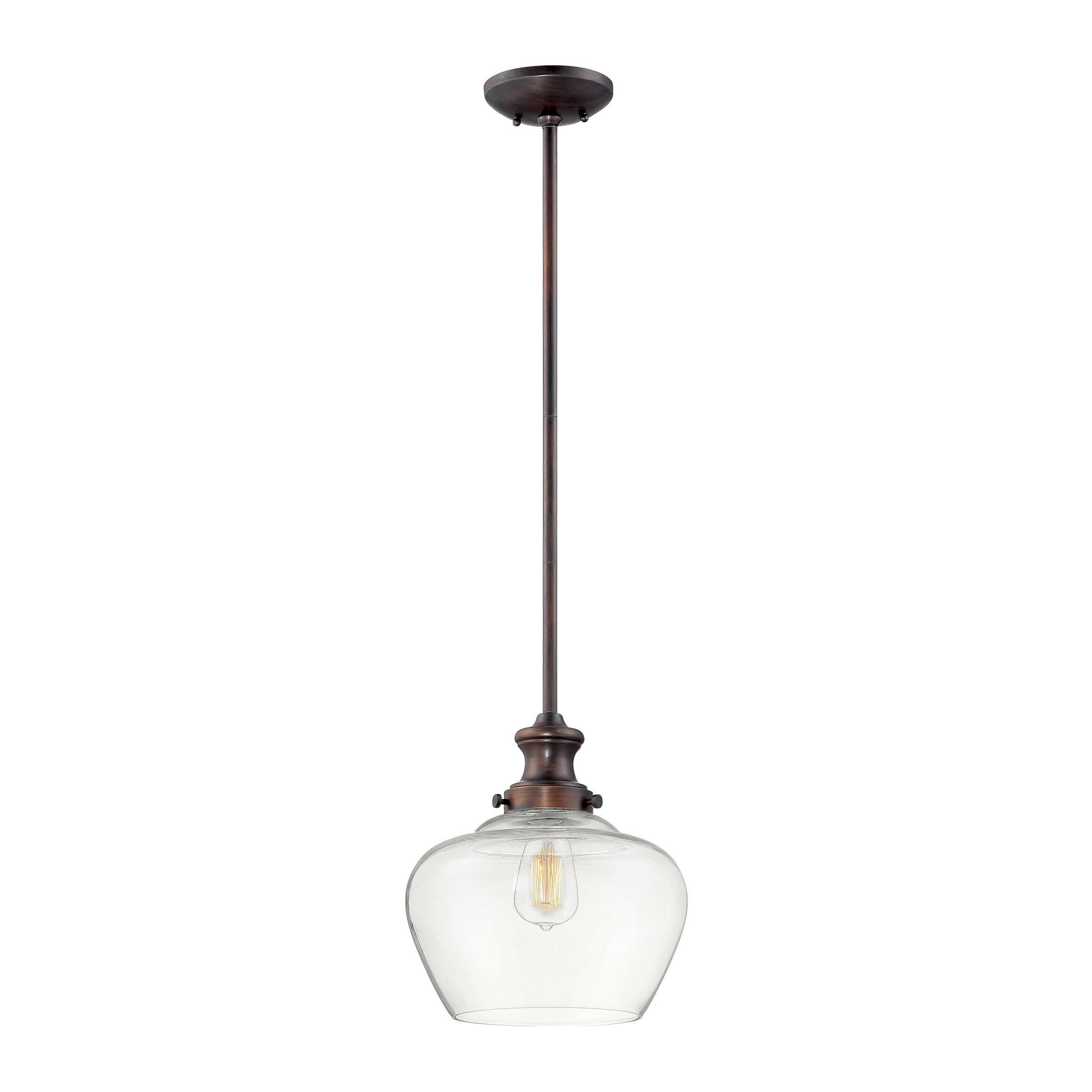 Trendy Witten 1 Light Single Bell Pendant Throughout Akakios 1 Light Single Bell Pendants (View 16 of 20)