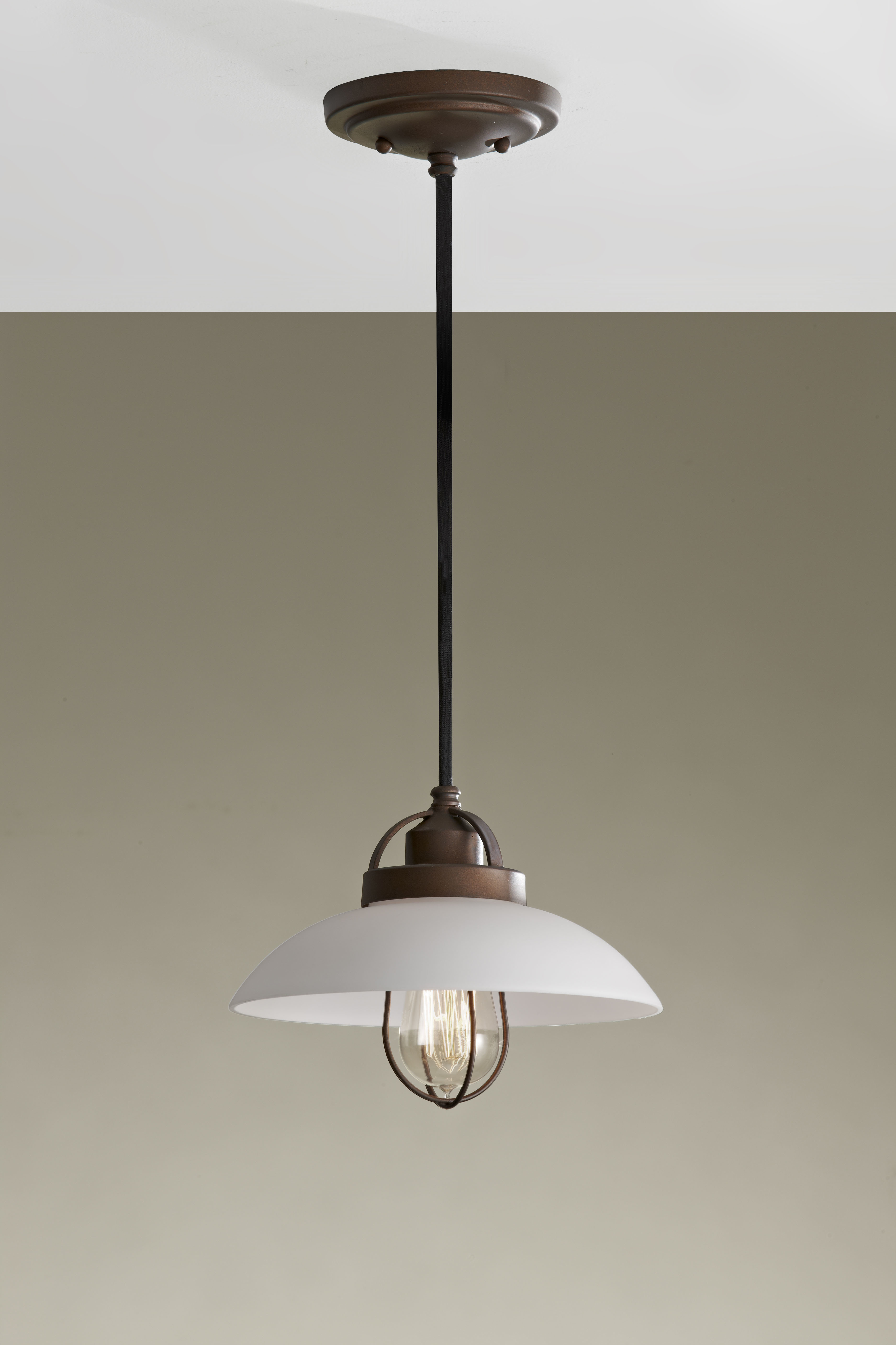 Well Known Abordale 1 Light Single Dome Pendants Regarding Abordale 1 Light Cone Pendant (View 11 of 20)