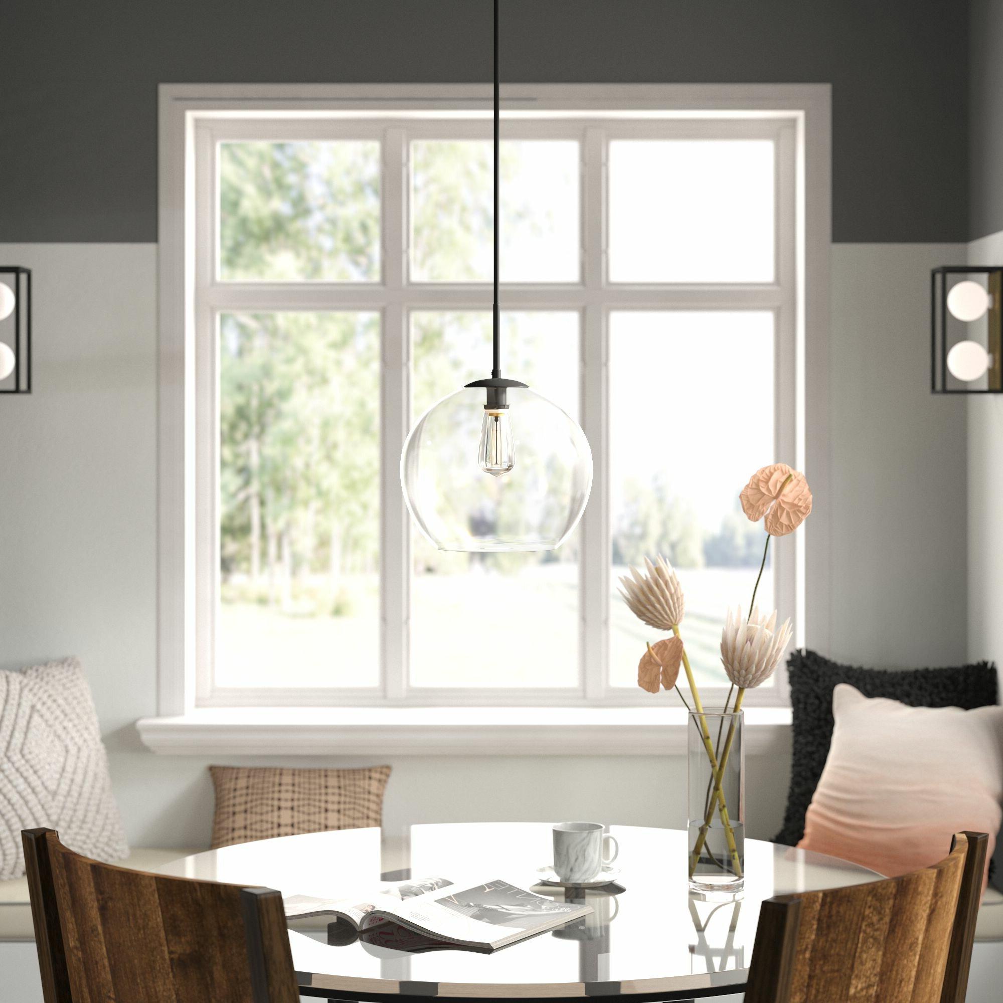 Featured Photo of 1 Light Globe Pendants