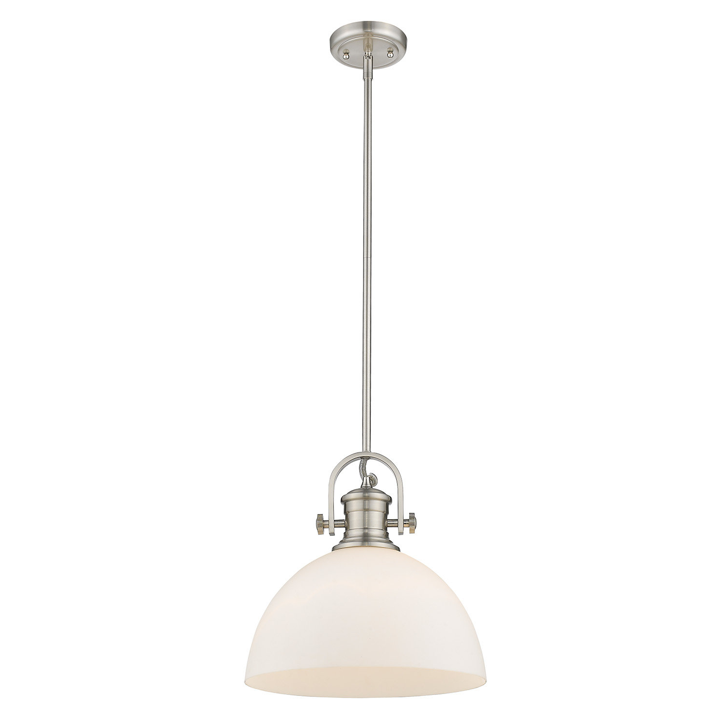 Well Liked Abernathy 1 Light Dome Pendants Within Vedder 1 Light Inverted Pendant (View 12 of 20)