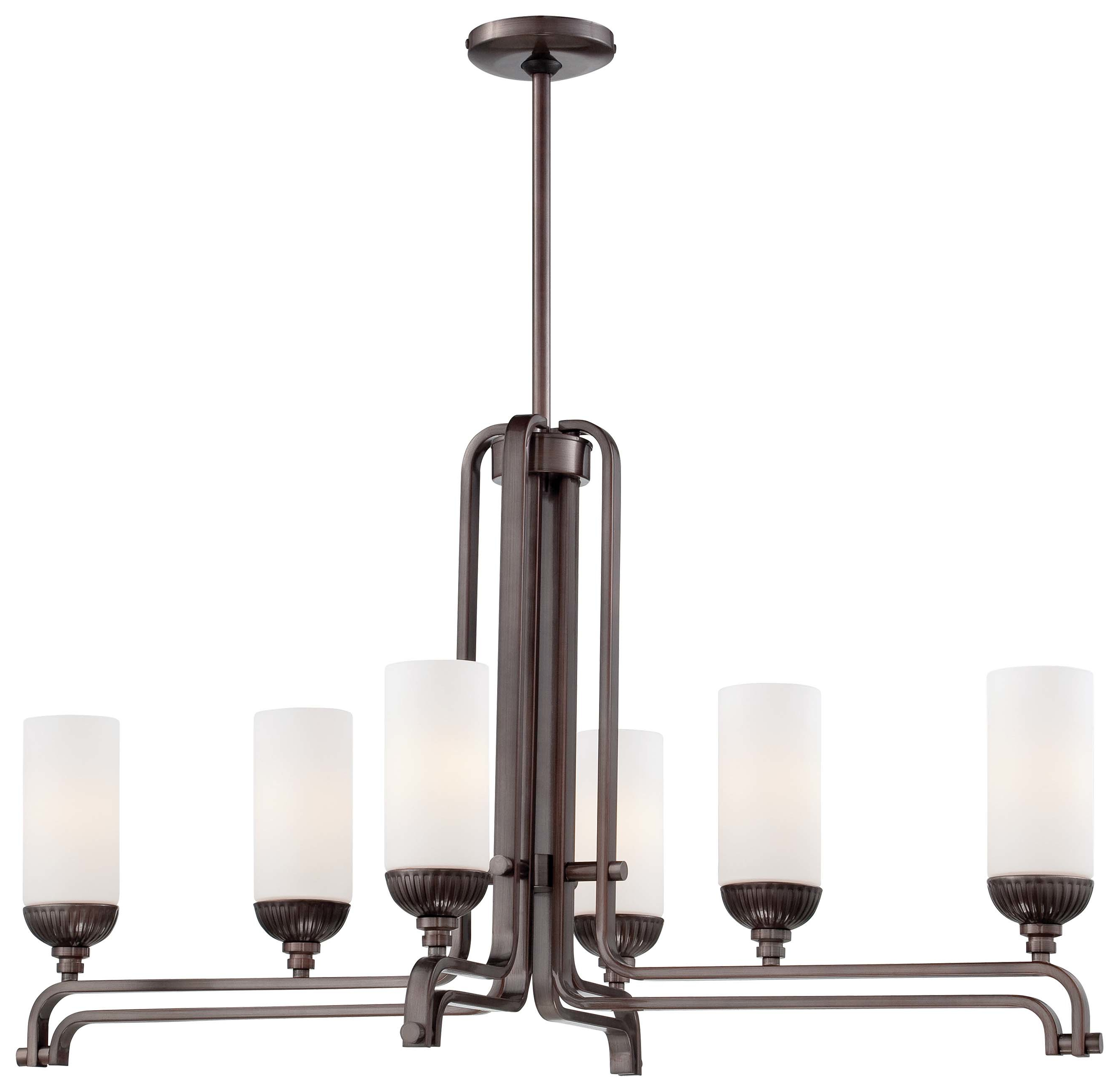 Widely Used Akash Industrial Vintage 1 Light Geometric Pendants For Industrial Kitchen Lighting You'll Love In (View 19 of 20)