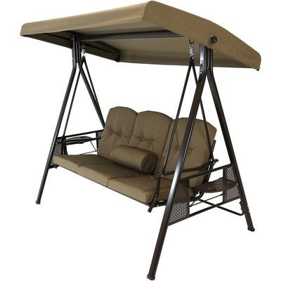 2 Person Adjustable Tilt Canopy Patio Loveseat Porch Swings Regarding Widely Used Sunnydaze 3 Person Steel Frame Outdoor Adjustable Tilt (Gallery 5 of 20)