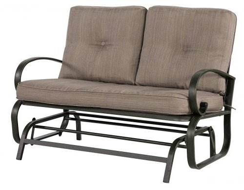 2 Person Loveseat Chair Patio Porch Swings With Rocker Pertaining To Trendy Best Patio Swings In 2020 Review (Gallery 13 of 20)