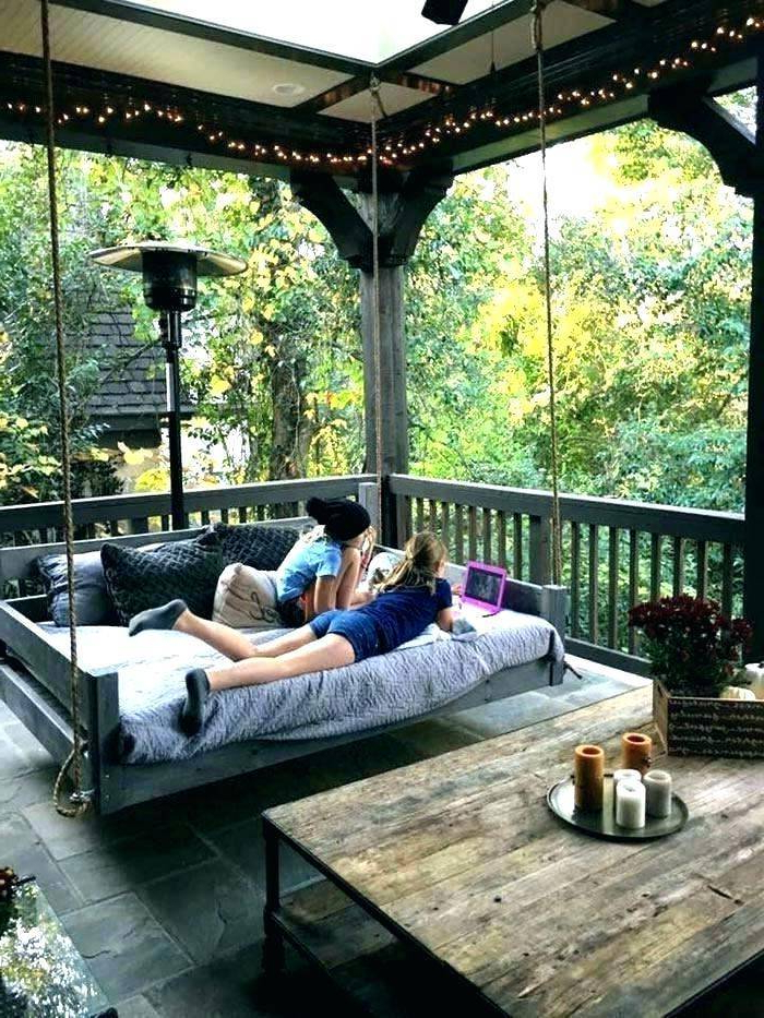 2019 Bedrooms Outdoor Porch Swings Round Swinging Beds Hanging In Patio Hanging Porch Swings (Gallery 6 of 20)