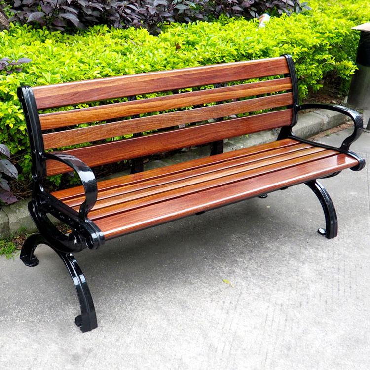2019 Chinese Suppliers Outdoor Furniture Curved Garden Bench Cast Pertaining To Wood Garden Benches (View 1 of 20)