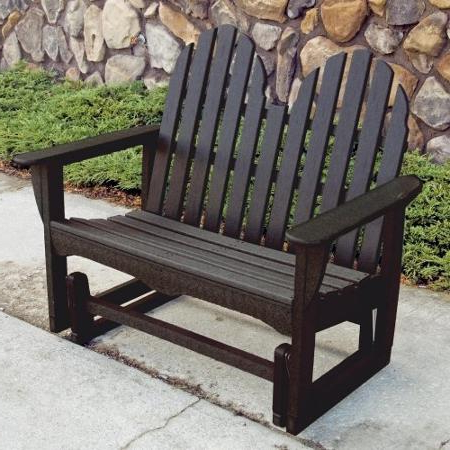2019 Classic Adirondack Glider Benches Pertaining To Cheap Polywood Benches, Find Polywood Benches Deals On Line (View 13 of 20)