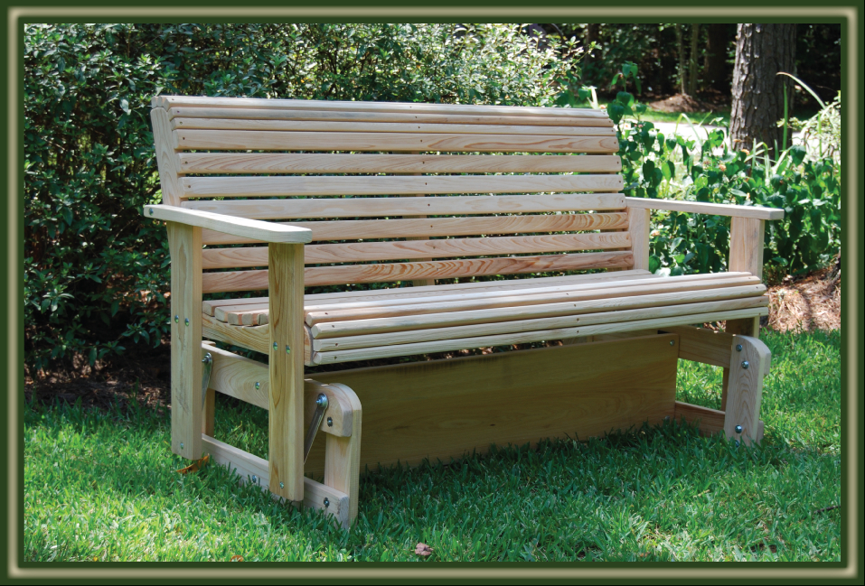2019 Porch Gliders – Porch Swings – Patio Swings – Outdoor Swings Inside Hardwood Porch Glider Benches (Gallery 12 of 20)