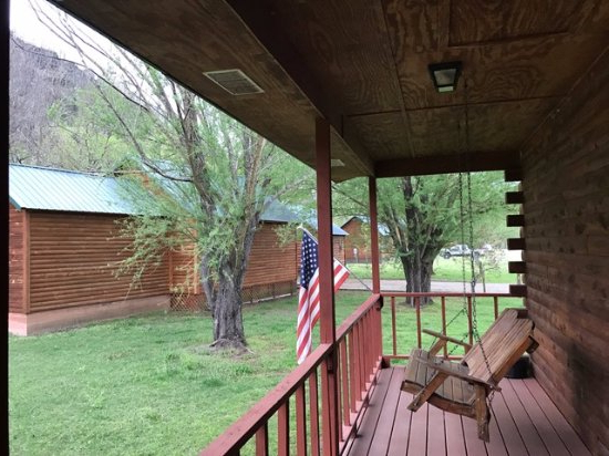 2020 American Flag Porch Swings With Regard To The View From The Front Of The Porch (View 20 of 20)