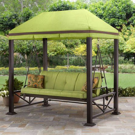 Featured Photo of Patio Gazebo Porch Swings