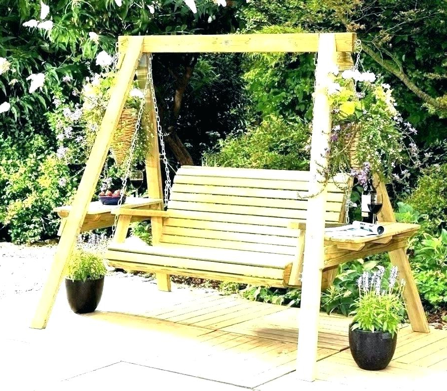 2020 Garden Swing Bench – Matarakyat (View 3 of 20)