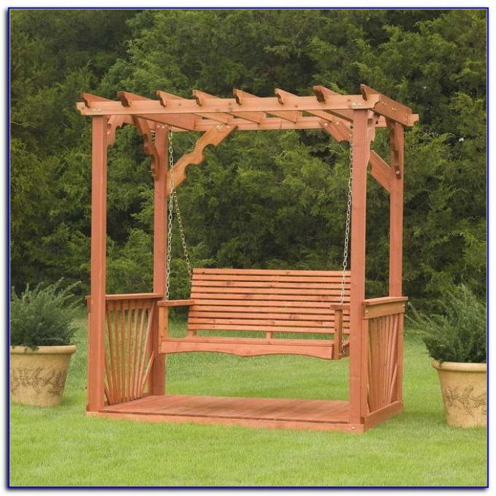 2020 Wooden Patio Swing Australia – Patios : Home Design Ideas Intended For 3 Person Natural Cedar Wood Outdoor Swings (View 4 of 20)