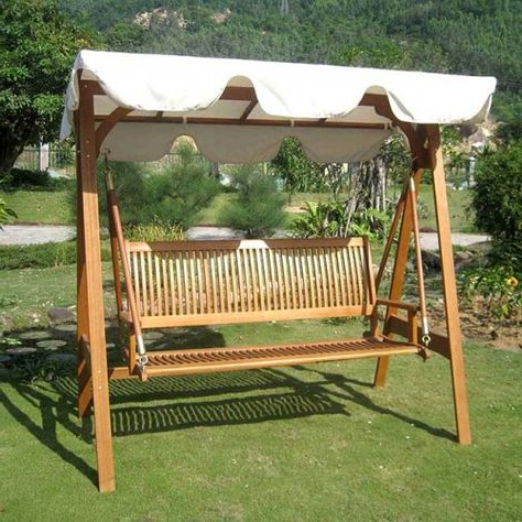 Featured Photo of 3 Seater Swings With Frame And Canopy