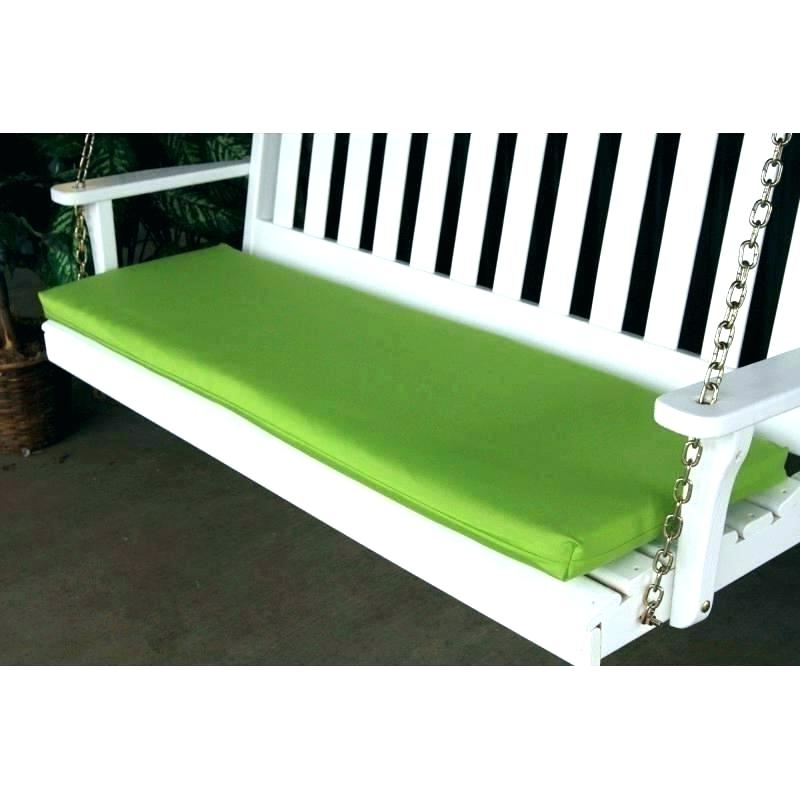 60 Inch Porch Swing Cushions – Seobaba Intended For Most Current Cushioned Glider Benches With Cushions (View 20 of 20)