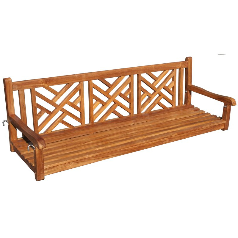 Amdt Teak Porch Swing Within Latest Teak Porch Swings (View 12 of 20)