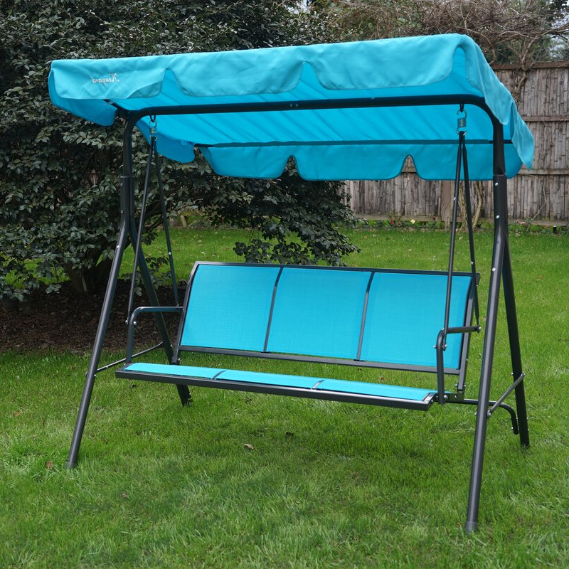 Best And Newest 3 Person Outdoor Porch Swings With Stand In Decatur 3 Person Outdoor Porch Swing With Stand (View 8 of 20)
