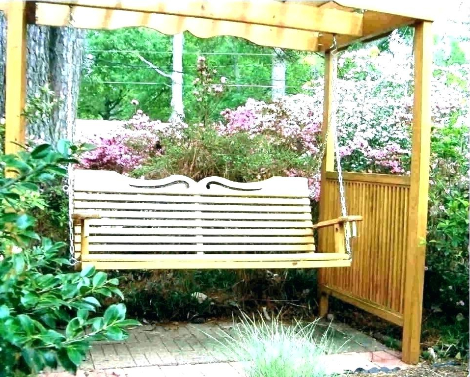 Best And Newest Casual thames White Wood Porch Swings Throughout White Wooden Porch Swing Swings Compressed N Wood Classic (View 14 of 20)