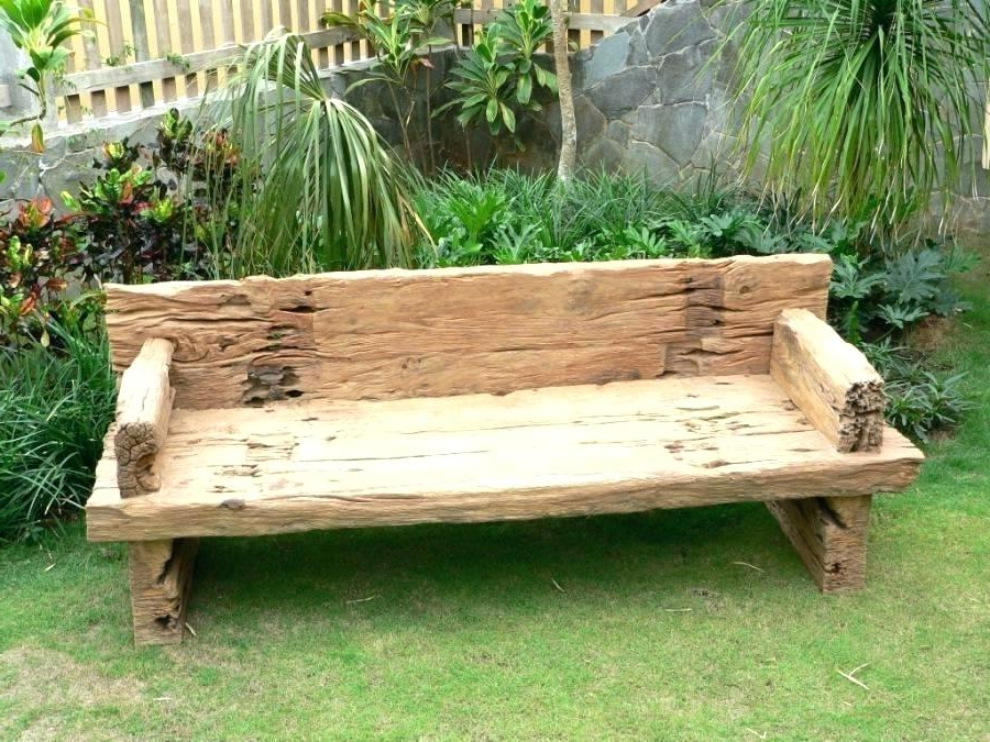 Best And Newest Simple Outdoor Bench Plans – Worldofseeds (View 3 of 20)