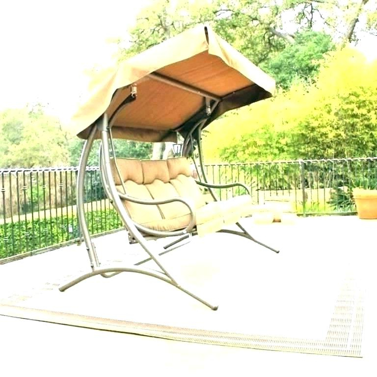 Best And Newest Wicker Glider Outdoor Porch Swings With Stand For Outdoor Gliders Swings – Athayadecor (View 6 of 20)