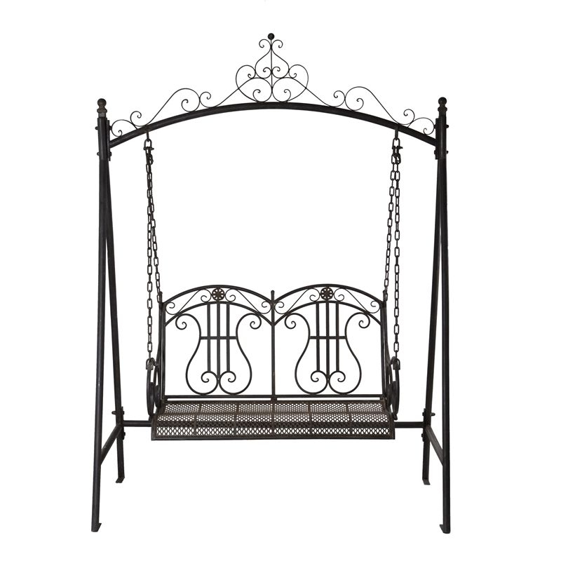 Bunnings Regarding 2 Person Antique Black Iron Outdoor Swings (View 6 of 20)