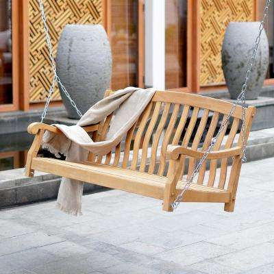 Cambridge Casual – Porch Swings – Patio Chairs – The Home Depot With Well Liked Casual Thames White Wood Porch Swings (Gallery 18 of 20)