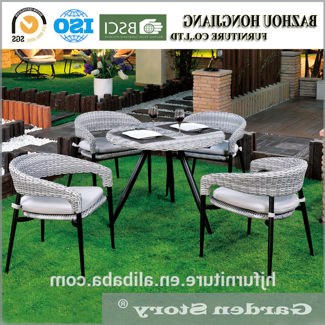 China Outdoor Wicker Chairs Wholesale 🇨🇳 – Alibaba With Fashionable Outdoor Wicker Plastic Half Moon Leaf Shape Porch Swings (View 18 of 20)