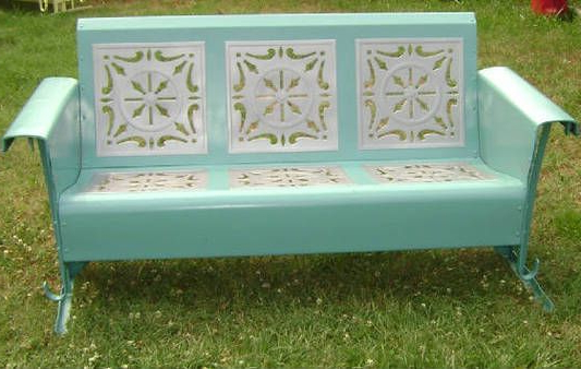 Classic Glider Benches Pertaining To Most Recently Released 1960's Porch Glider – Absolutely The Best Piece Of Furniture (Gallery 1 of 20)