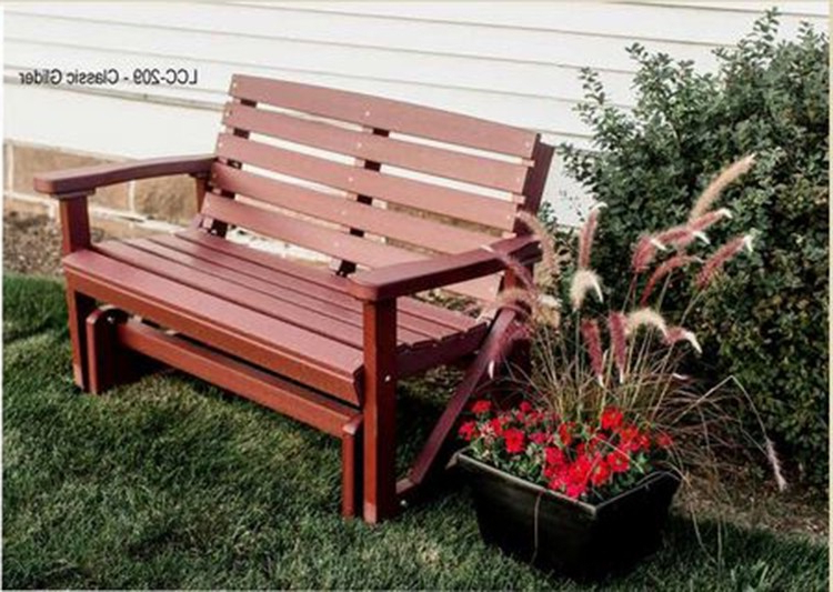 Classic Glider Benches With Regard To Preferred Classic Gliderwildridge (View 9 of 20)