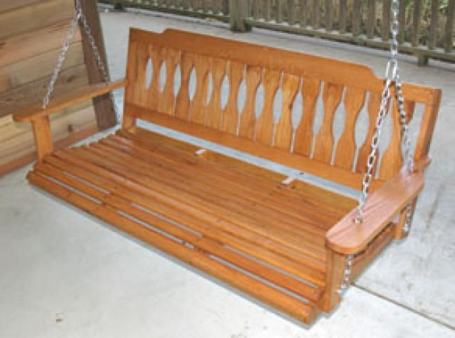 Classic Porch Swings With Regard To Trendy Build A Wooden Porch Swing With These Free Plans: Classic (Gallery 7 of 20)