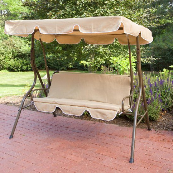 Coral Coast Ginger Cove 2 Person Adjustable Tilt Canopy For Preferred 2 Person Light Teak Oil Wood Outdoor Swings (View 12 of 20)