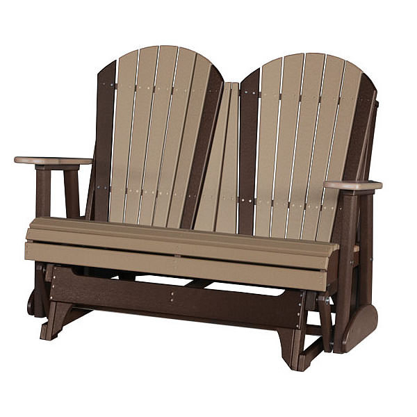 Current Classic Adirondack Glider Benches Regarding Luxcraft / Crestville® Adirondack 4 Ft (View 18 of 20)