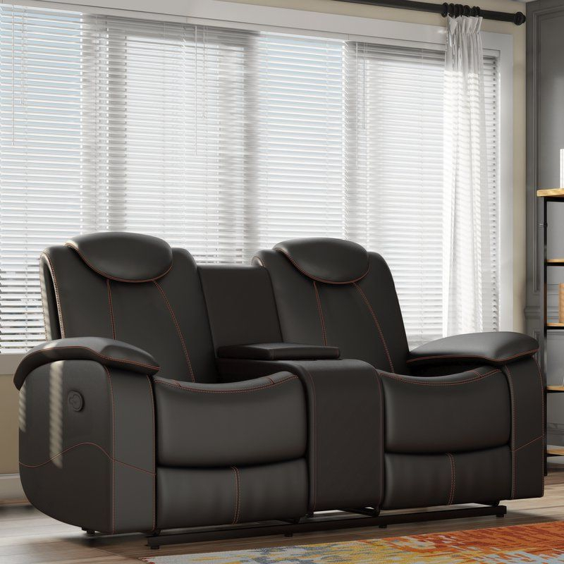 Current Erik Double Glider Reclining Loveseat – Loveseats For Sale For Double Glider Loveseats (View 2 of 20)