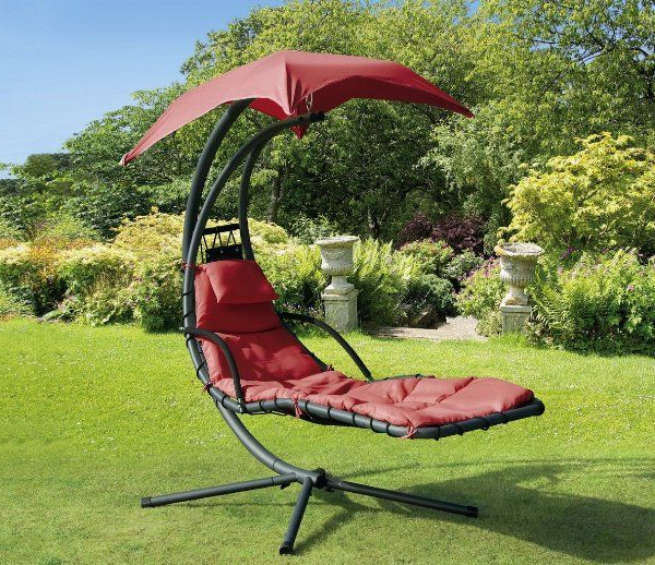 Current Garden Leisure Outdoor Hammock Patio Canopy Rocking Chairs For Helicopter Swing Steel – Red:amazon:patio, Lawn & Garden (View 18 of 20)