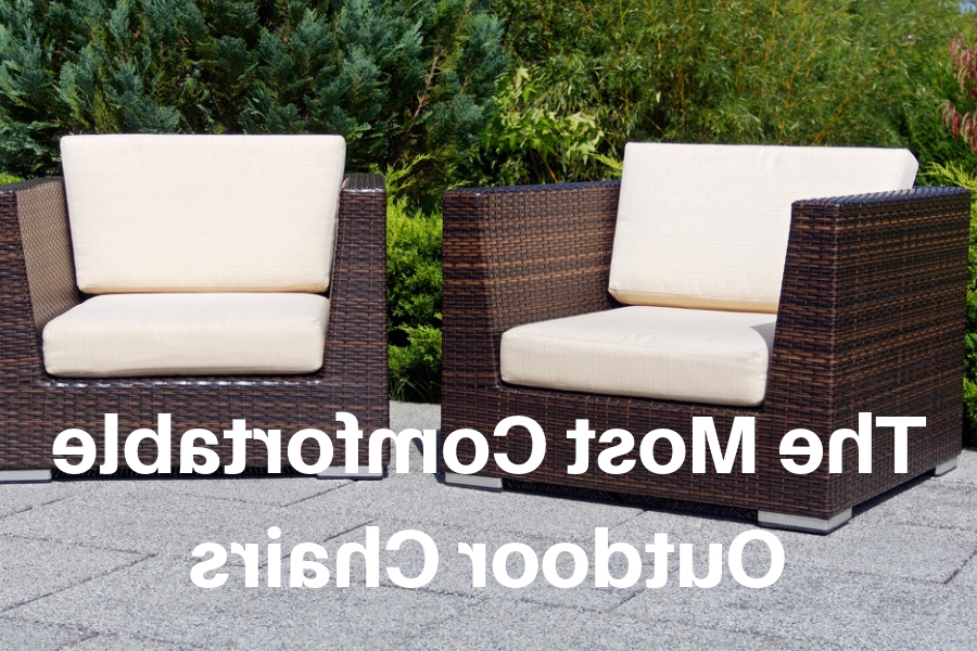 Current Rocking Love Seats Glider Swing Benches With Sturdy Frame Pertaining To Most Comfortable Outdoor Chair January  (View 4 of 20)